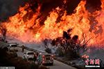 美国加州最大火灾蔓延到圣芭芭拉 威胁沿海城镇