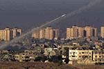 以色列遭加沙地带火箭弹袭击 特朗普讲话后被射近20枚