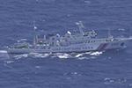 中国海警连续两日巡航钓鱼岛 日本无理警告并持续监视