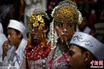 印尼437对情侣齐聚 集体办婚礼迎新年