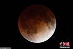 """一月末将出现""""血色满月"""" 上一次观测系150年前"""