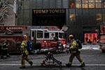 纽约曼哈顿特朗普大厦发生火灾致3人受伤