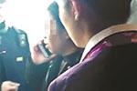 """高铁再现""""乘客堵车门"""" 车站派出所介入调查"""
