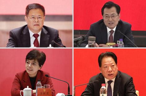 郑栅洁、裘东耀、余红艺、杨戌标分别参加代表团审议