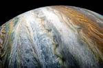 木星云带绚丽震撼:静似彩色缎带 动如汹涌波涛