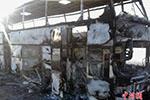 哈萨克斯坦大巴起火致52人遇难 或由短路引发