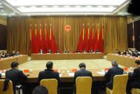 宁波市十五届人大三次会议主席团举行第三次会议