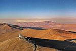 智利沙漠美景:大漠星垂黄沙阔 山路蜿蜒通穹台