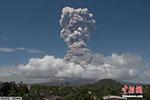 菲律宾马荣火山随时大爆发 四万人已紧急疏散