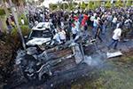 班加西发生双重汽车炸弹袭击 致27人死亡32人伤