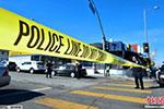 美国洛杉矶一中学发生枪击事件 致5人受伤1人被捕