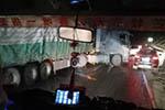 昆楚高速结冰连发14起交通事故:53车相撞 4人意外坠亡