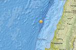 智利中部近海发生5.0级地震 震源深度10公里