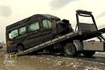 中国旅游团巴尔的摩车祸10人伤 一人仍昏迷不醒