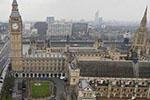 英国议会大厦疑发现可疑包裹 附近聚集大量警察