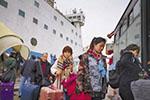 台生抗议台当局不核准加班机:有家难回 要当局道歉