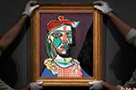 毕加索画作拍出4980万英镑高价 系其恋人肖像