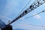国内海拔最高玻璃桥开放