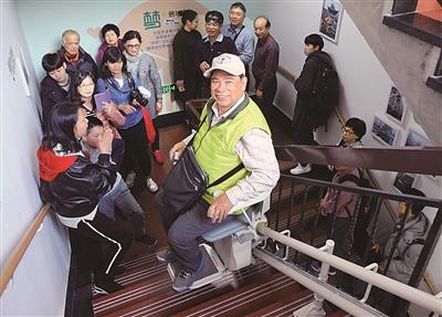 台湾同胞走访社区