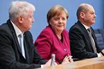 德国联盟党和社民党正式签署联合组阁协议