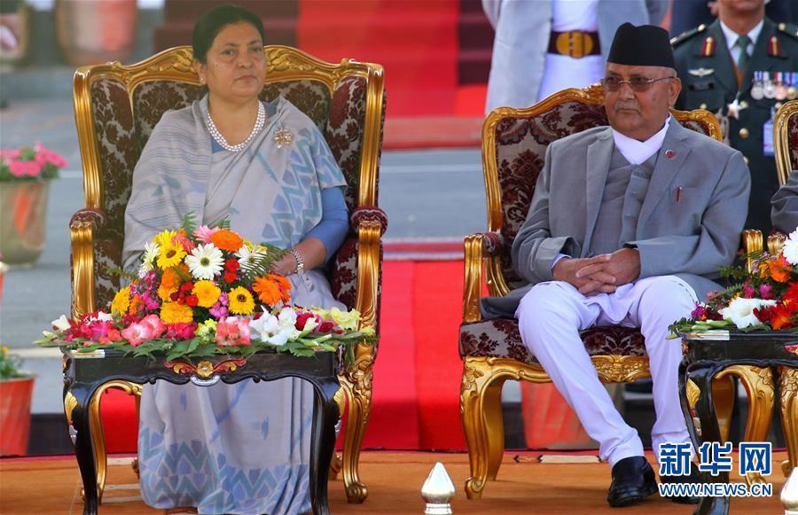 手机幸运飞艇开奖记录:班达里宣誓就任尼泊尔总统