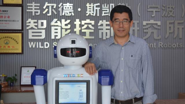 """宁波企业为机器人安上""""最强大脑"""",将进军一汽装配厂"""