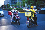 公安部交管局:多次严重交通违法配送员全行业禁入