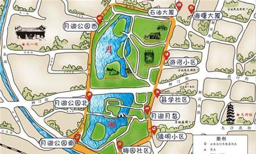 不简单!这13张骑行地图 带你乐游宁波景区!