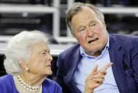 美国前总统老布什夫人病危 宣布放弃医疗救治