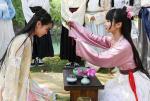 大学生着汉服沿袭传统再现古代上巳节