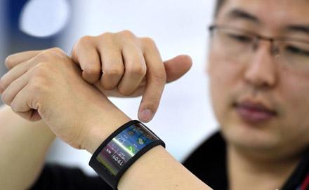 黑科技!可穿戴手机亮相首届数字中国建设成果展览会