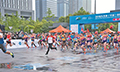九龙湖(宁波)国际半程马拉松赛举行