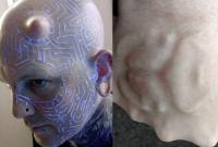 """国外一男子自称""""超人类"""" 进行身体改造逾百次"""