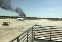 外媒:美一架军机坠毁在公路上 机上9人无人生还