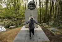 海格特公墓的马克思墓