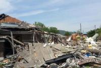 韩国京畿道发生液化气爆炸事故 1人死亡1人失踪