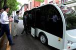 无人驾驶小巴在上海交大校园实验性运行