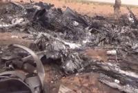 俄最先进卡52武直坠毁现场曝光 一地碎片