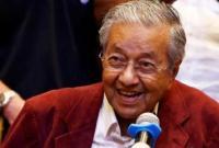 92岁马哈蒂尔宣誓就职大马总理 成最年长国家领导人