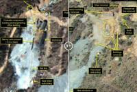 美国网站卫星图:朝鲜开始部分拆除核试验场