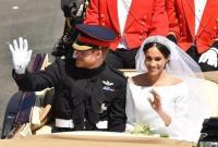 哈里王子夫妇完婚后返回伦敦执行公务 未直奔蜜月地