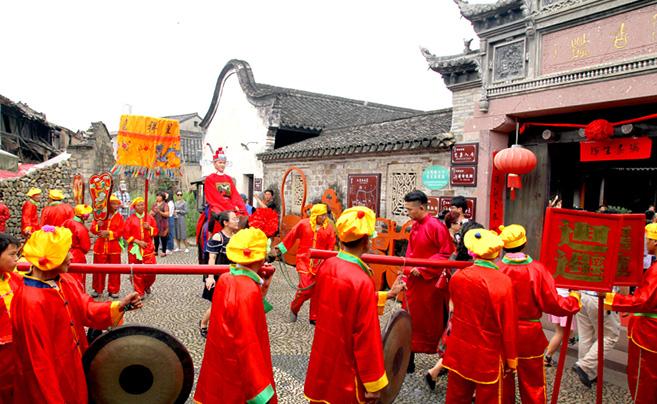 前童古镇:婚嫁民俗展传统文化