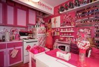 日本女子花51万将公寓打造成芭比小屋