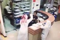 沙特男子因被拒绝开药持刀连捅护士近十秒