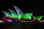 缤纷悉尼灯光音乐节举办