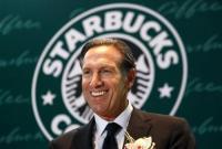 星巴克董事长舒尔茨宣布退休 可能竞选美国总统