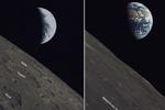 嫦娥四号微卫星发回月球照片