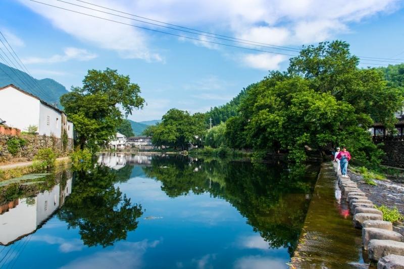 蓝天白云青山绿水