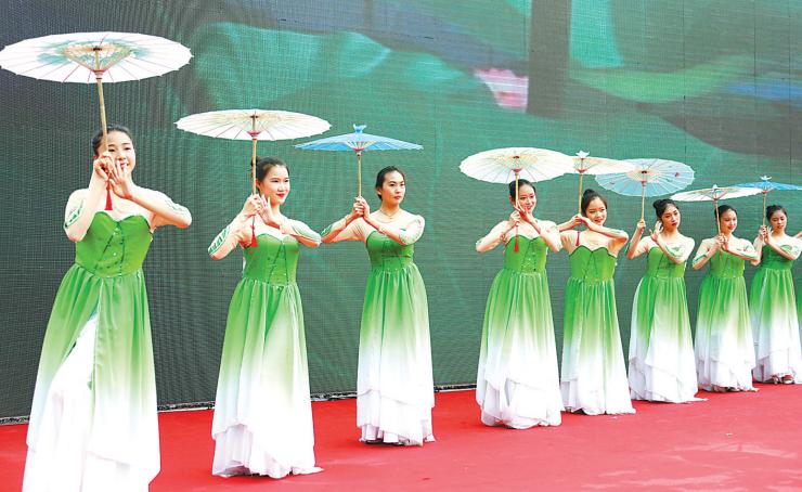 塘溪第八届名人文化旅游节闭幕