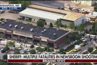 美国马里兰州一报社发生枪击事件 致5人死亡